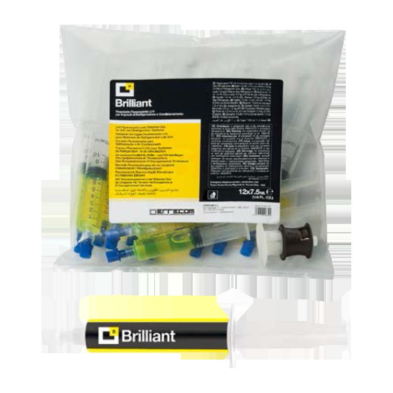 8.5 fl.oz // 250millimeter R1234yf Hybrid and Electric Vehicles R134a AC//R Leak Detector Dye Brilliant - UV Fluerescent Dye for A//C Systems with R12